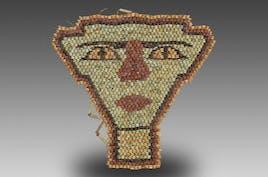 Mummy Faience Bead Mask