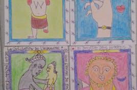 Serie de dessins