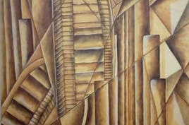 Cubist view of UAE
